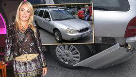 SuperStar Balogová zbořila tátovo auto! Viníky jsme oba, vysvětlovala