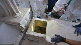 """Záhada """"vatikánské Maddie"""": U hrobek našli lidské kosti. Přinesly posun v případu?"""