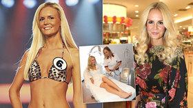 Miss Lucie Hadašová o liposukci: Všechno se dá vycvičit!