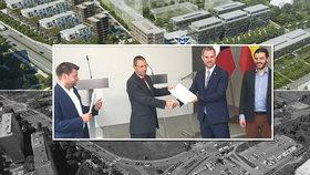 """Cesta ke stavebnímu povolení pro """"déčko"""" je volná: Majitelé pozemků u Nemocnice Krč stáhli žalobu"""