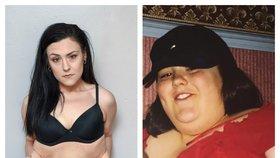 6 kilo přebytečné kůže! Žena shání peníze na plastiku poté, co zhubla na polovinu své váhy