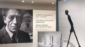 Vůbec poprvé! Do Prahy přijela slavná díla sochařského titána Alberta Giacomettiho