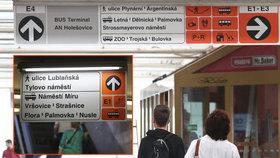 Pražské metro testuje novou navigaci: Místo východů hledejte číslovaný exit jako na dálnici