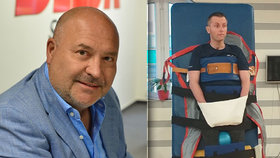Zdeněk (44) bojuje s ochrnutím, Evička (10) s obrnou: Michal David rodinám poslal desetitisíce