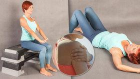 Krutá bolest ramen? Pomohou dva snadné cviky! Mrkněte, jak na ně!
