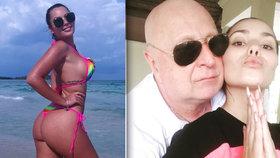Exsnoubenka českého milionáře (63) se bojí o život: Podřežu tě, chodí jí výhrůžky
