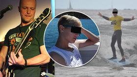 Hrozná tragédie! Teprve 16letý syn kytaristy Polemicu zemřel! Smrt při vodním sportu