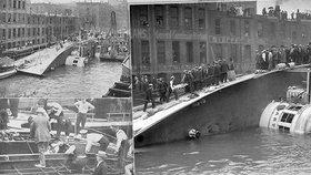 """Tragédie """"českého Titaniku"""": V převráceném parníku zahynulo 220 Čechů, nikdo nebyl potrestán"""