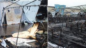 4 děti uhořely v táboře, policie už zatkla ředitele