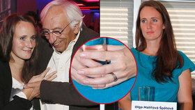 Exmilenka Langerové Špátová: Tajná svatba! Vzala si o 35 let staršího otce její dcery!
