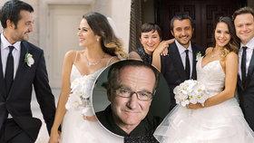 Dojemné gesto syna Robina Williamse (†63): Oženil se v den tátových narozenin