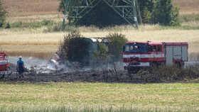 V Kopči na Mělnicku hořela maringotka: Po uhašení v ní našli tělo!