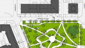 Revitalizace parku ve Slunečním městě vrcholí: Zbraslavští uvidí první výsledky před podzimem