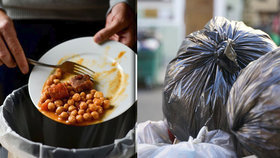 České jídelny a fast foody plýtvají. Ročně vyhodí až neuvěřitelných 27 tisíc tun jídla