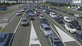Peklo na chorvatských silnicích: Řidiče o víkendu čekají blokády hranic i mýtných bran