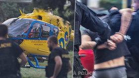 V Pardubicích vypadla holčička (5) z okna: Policie zatkla tátu!