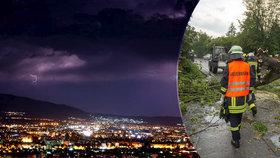 Bouře zabila v Itálii tři lidi, v Chorvatsku se objevilo tornádo. Padaly i kroupy jako tenisáky