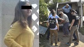 """""""Už jde!"""" volala před smrtí zoufalá Saša (†15): Zabetonovaná těla hledá policie v jámách na pozemku vraha"""