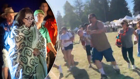"""""""Střílel hlava nehlava!"""" Svědci přiblížili děs a chaos na festivalu česneku"""