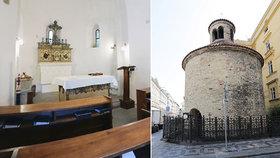 Ukřižovanou dívku vhodili do rybníka: Pověst vypráví, jak vznikla rotunda Nalezení sv. Kříže v Praze