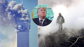 """Trump se chlubil pomocí po útocích 11. září. """"Nikde jsem ho neviděl,"""" rýpl si hasič"""