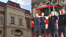 Nejstarší hasičská centrála v Praze: Poplašný zvon funguje dodnes, na zesnulé kamarády nezapomněli