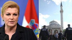 """Islamisté na prahu Evropy. Blond prezidentka varuje: """"Lžou a kontrolují Bosnu"""""""