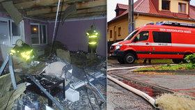 Bouře nad severem Moravy: Vichr strhl střechu školy! Déšť zničil, co dělníci už opravili