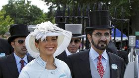 Princezně Haje vyznal lásku šejch z Dubaje. Soudí se s ní o děti, napsal jí i báseň