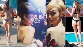 Která má hezčí zadeček? Dokonalé sestry Bella a Gigi Hadidovy řádí v Řecku!