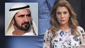 Krásná princezna Hajá zvítězila nad vládcem Dubaje. Soud: Je za únosy dvou dcer