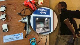 Další útoky zlodějů na pražské bankomaty! Vybírají si hlavně ty v centru
