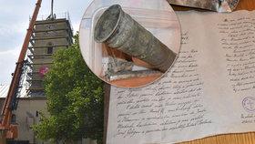 Poselství předků uložené v kostele v Klimkovicích: Provrtejte korunu a prodejte ji jako knoflík