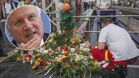 Po vražedném útoku na nádraží ve Frankfurtu chce ministr přitvrdit kontroly