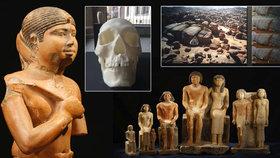 """Česká egyptologie slaví století výjimečných objevů. V Karolinu si na """"některé"""" můžete i sáhnout"""