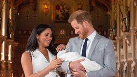 Kdo je kmotrem Archieho? Meghan a Harry to chtěli utajit, nepovedlo se!