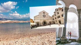 Zadar a okolí: dokonalé pláže, příroda i historie bez davů