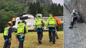 Smrt Čechů na Trollveggenu: Na nejvyšší stěně Evropy zemřel vydavatel časopisu o horolezectví Tomáš R. (†45)