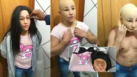 Gangster, který prchal z vězení v převleku za 19letou dceru: Oběsil se v cele