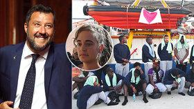 Pro kapitány lodí s migranty pokuta až 26 milionů. Po tlaku Salviniho Italové zpřísňují