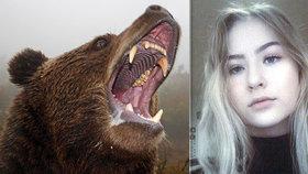 Medvěd zaútočil na mladou dívku: Urval Soně (†14) téměř celou hlavu