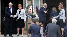 """Johnson naštval premiérku Skotska. Jeho """"vydřička"""" zařizuje premiérský byt"""
