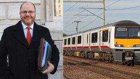 """Ministrovi dopravy ujel vlak: """"To nemohl počkat 15 vteřin,"""" obořil se na výpravčího"""