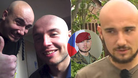 Bratr padlého českého vojáka Filip nastupuje do armády: Chce splnit slib
