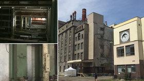 Odkolkův areál ve Vysočanech zboří: Podívejte se ještě naposledy dovnitř