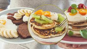 Snídaně až do postele: Tři recepty na netradiční lívanečky