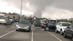 Ničivé tornádo se prohnalo Lucemburskem: Zranění lidé a zničené domy