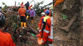 Bahno pohřbilo zaživa přes 100 lidí. Asii pustoší obří záplavy v Číně udeřil tajfun