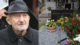 Dva týdny po smrti Zdeňka Srstky (†83): Pohřbili ho v utajení