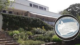Slavná vila Tugendhat má svou minci: Ke koupi jich bude jen stovka